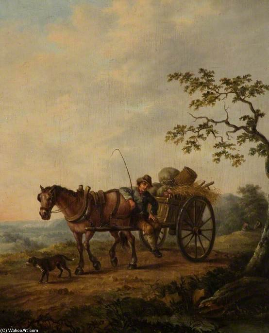 The Country Carrello di Thomas Barker (1769-1847, United States)