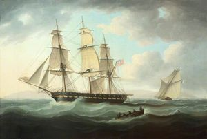 Thomas Buttersworth - Frigate e Cutter
