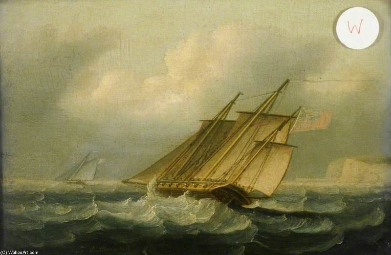 Il Squall di Thomas Buttersworth (1768-1842, United Kingdom)