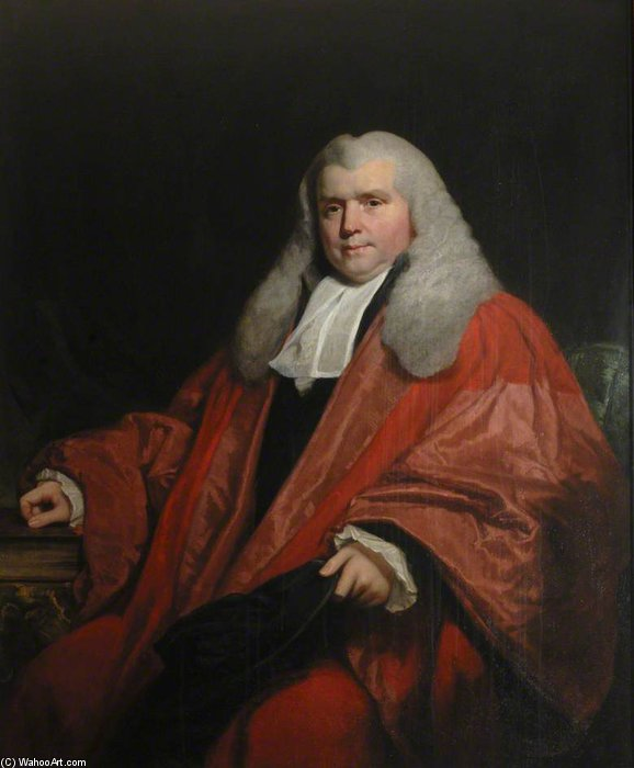 Sir John Nicholl di William Owen (1769-1825, United Kingdom) | ArtsDot.com