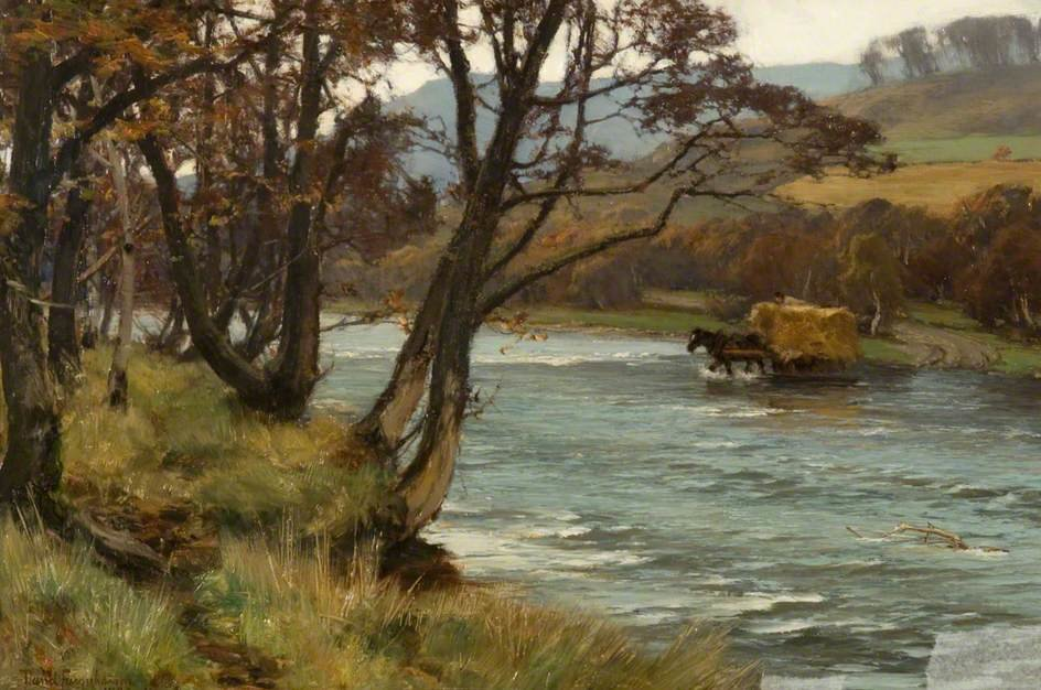 Il Garry, Blair Atholl di David Farquharson (1839-1907, United Kingdom) | ArtsDot.com