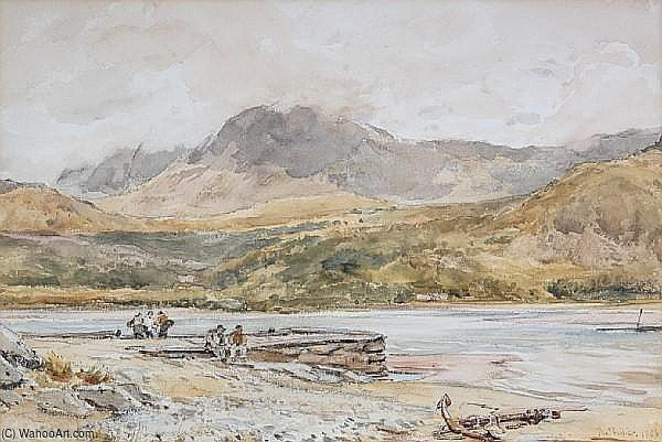 Cader Idris di Thomas Collier (1620-1691, United Kingdom)