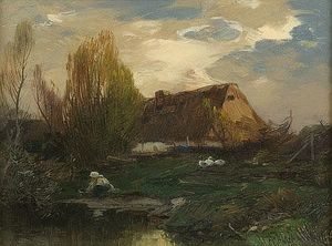 Roman Kochanowski - Cottage On The Water