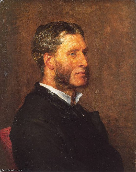 Matthew Arnold di Frederick Waters Watts (1800-1870, United Kingdom)