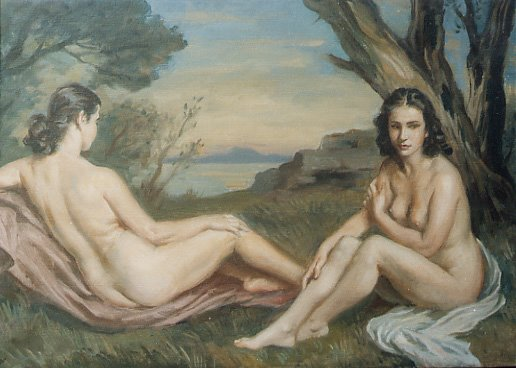 gemelas Apperley di Jorge Apperley (George Owen Wynne Apperley) (1884-1960, United Kingdom)
