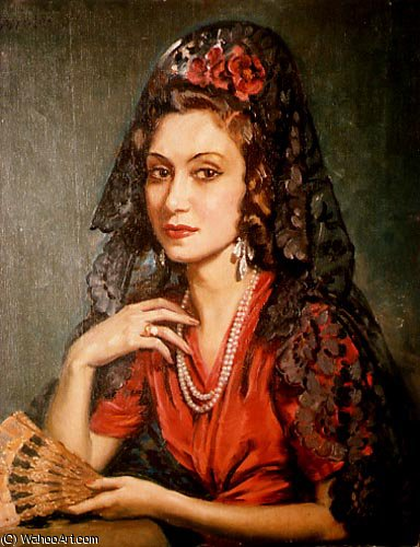 magda di Jorge Apperley (George Owen Wynne Apperley) (1884-1960, United Kingdom) | ArtsDot.com
