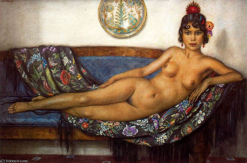 senza titolo (6045) di Jorge Apperley (George Owen Wynne Apperley) (1884-1960, United Kingdom)