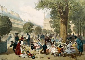 Eugene Charles Francois Guerar.. - le tuileries