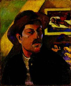 Paul Gauguin - autoritratto