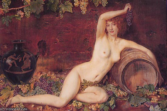 Espiritu de la vina di Jorge Apperley (George Owen Wynne Apperley) (1884-1960, United Kingdom)
