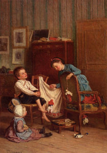 Theophile Emmanuel Duverger - Lo spettacolo di marionette