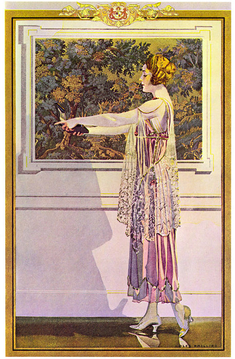 Untitled (846) di Coles Phillips (1880-1927, United States) | Copia Pittura | ArtsDot.com