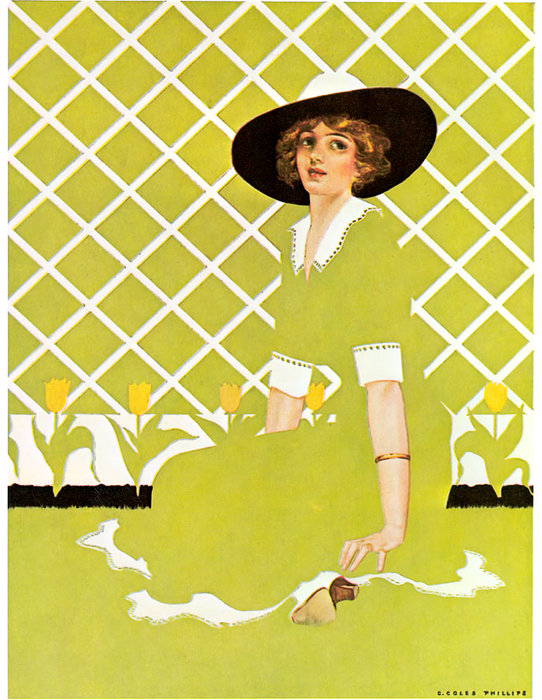 Untitled (142) di Coles Phillips (1880-1927, United States)