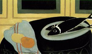 Georges Braque - Nero pesci , Musee nazionale d-Art moderne , Centr