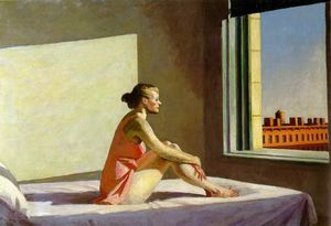 Edward Hopper - mattino sole Colombo  mus..