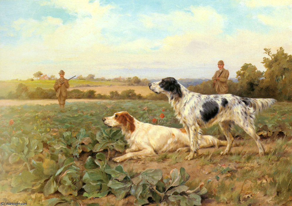 Nel campo, riprese di Thomas Blinks (1860-1912, United Kingdom)