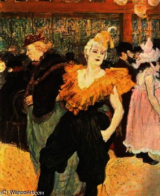 Cha-U-Kao, The Clown cinese di Henri De Toulouse Lautrec (1864-1901, France)