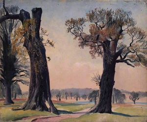 Dame Laura Knight - Richmond parco