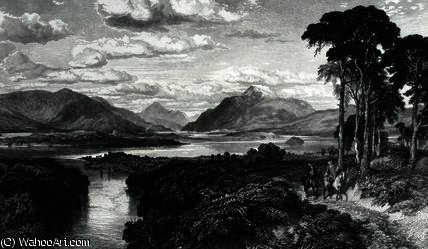 Loch Lomond di Samuel Bough (1822-1878, United Kingdom)