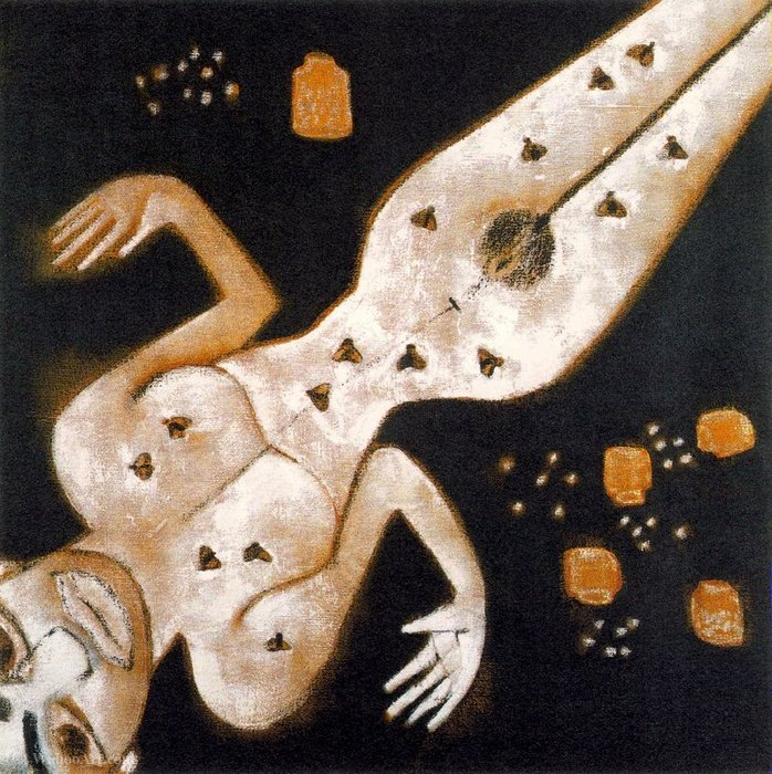 Untitled (131) di Francesco Clemente