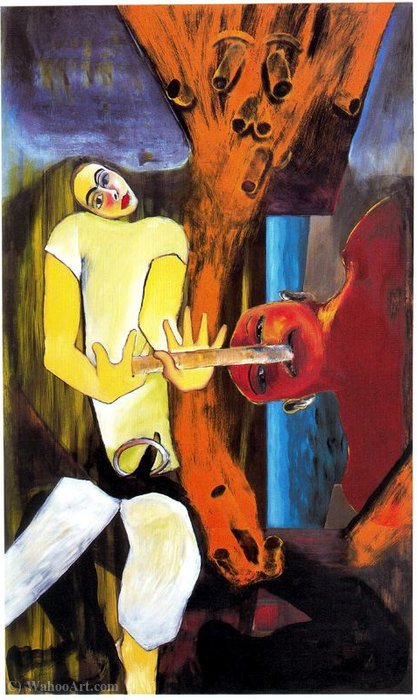 Untitled (635) di Francesco Clemente