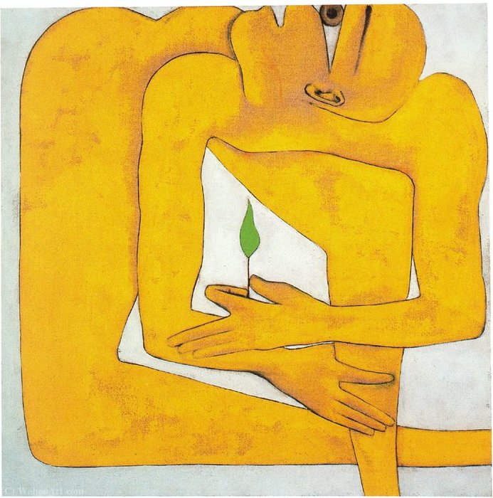 Untitled (420) di Francesco Clemente