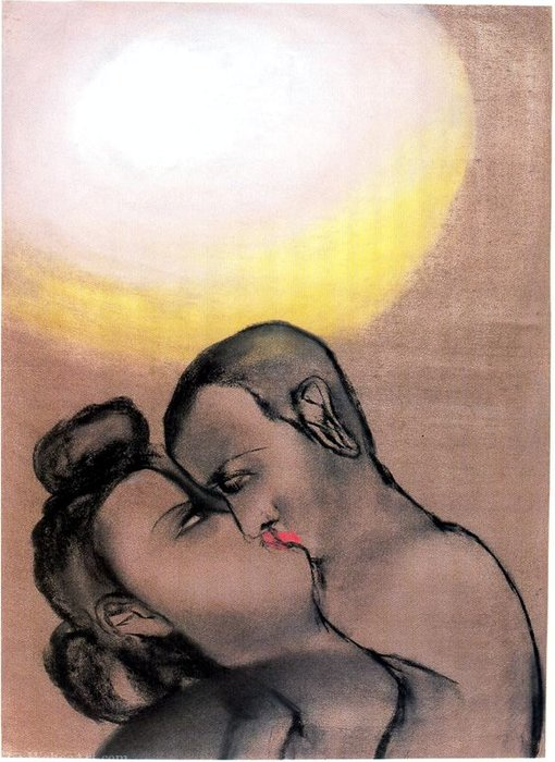 Untitled (731) di Francesco Clemente