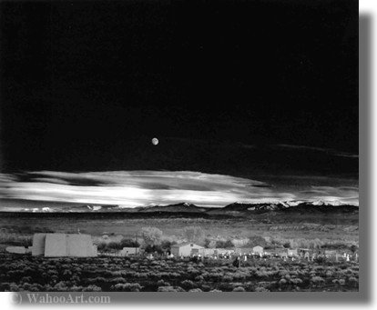 Untitled (238) di Ansel Adams (1902-1984, United States)