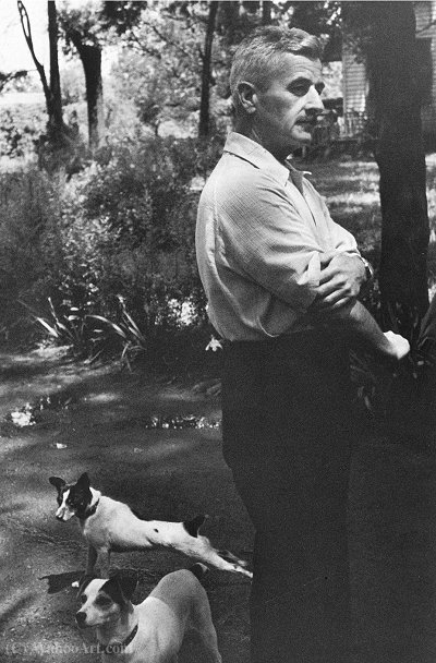 William Faulkner 1947 di Henri Cartier-Bresson