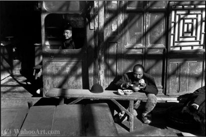Pekin in cina estremo di Henri Cartier-Bresson (1908-2004, France) | Copia Pittura | ArtsDot.com