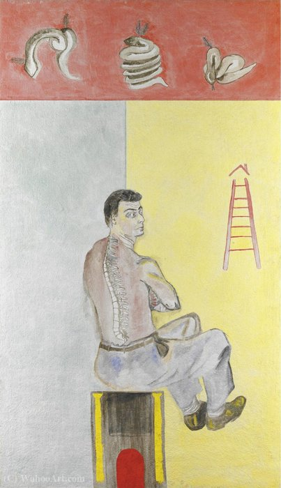 Untitled (605) di Francesco Clemente