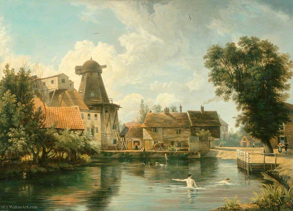 Un Millpool norfolk di George Vincent (1796-1831, United Kingdom)