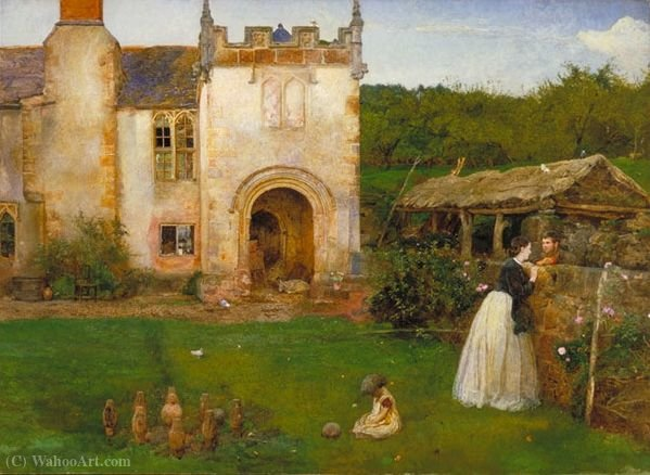 Il vecchio campo da bocce di John William North (1842-1924, United Kingdom)