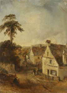 Thomas Colman Dibdin - Ambleside come visto da The White Lion