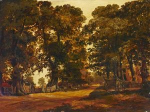 Thomas Colman Dibdin - Scena rurale a Heston