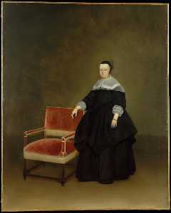 Gerard Ter Borch The Youn.. - Margaretha furgone Haexbe..