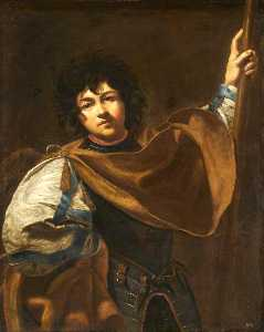 Simon Vouet - Santo William di Aquitani..