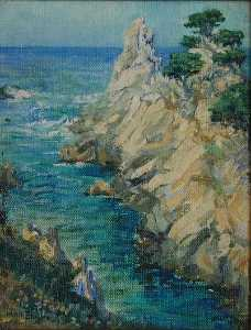 Mary Agnes Yerkes - Lobos point pittura