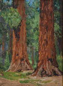 Mary Agnes Yerkes - i giants pittura