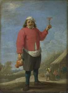 David The Younger Teniers - autunno