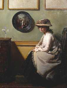 William Newenham Montague Orpen - il specchio