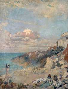 William Newenham Montague Orpen - paesaggio