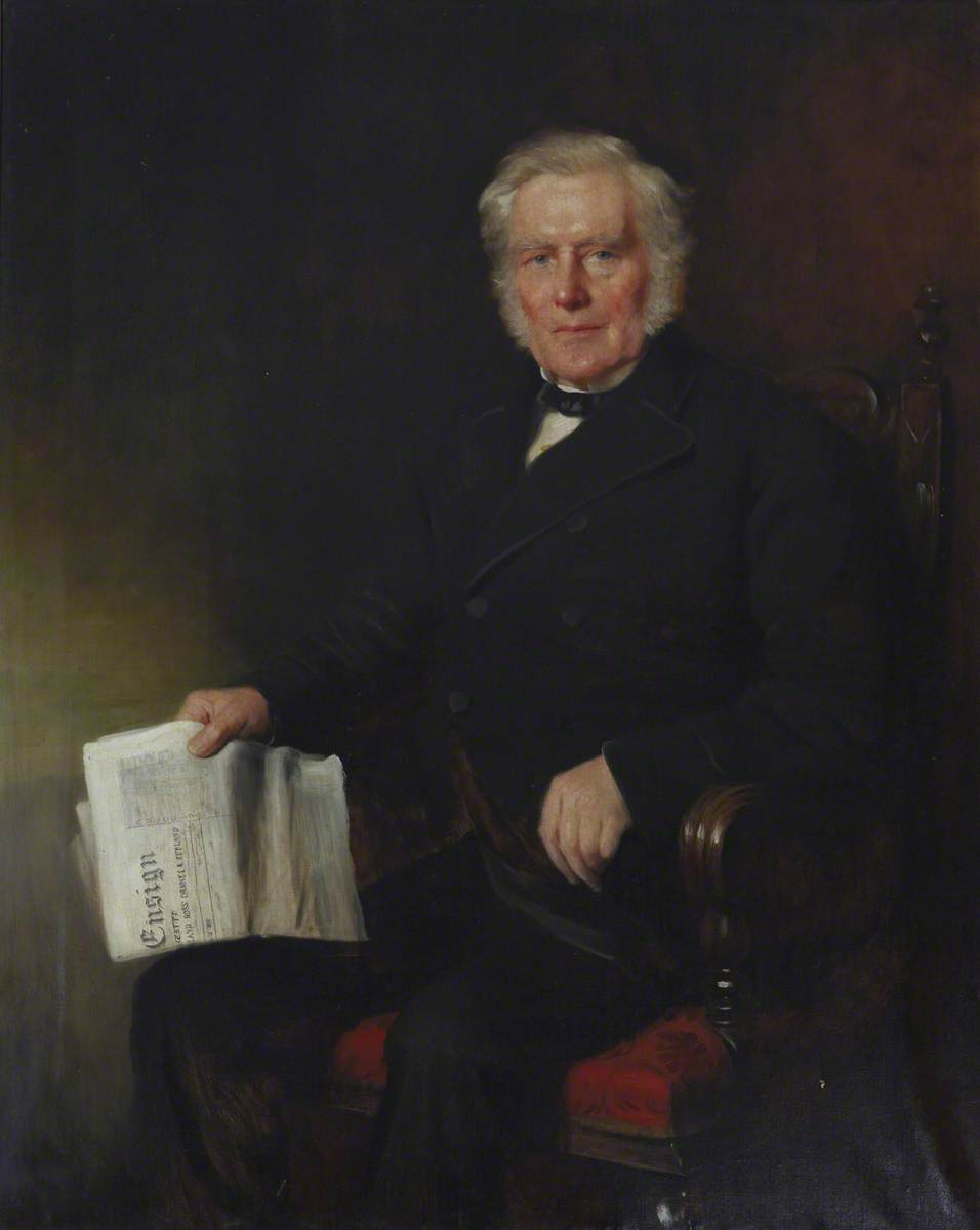 william rae , Esq, 1887 di James Irvine (1822-1889, Scotland) | Stampe D'arte Su Tela | ArtsDot.com