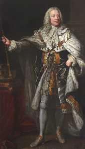 John Shackleton - Re Giorgio II ( 1683–1760..
