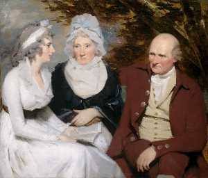 Henry Raeburn - Giovanni e betty johnstone e miss wedderburn