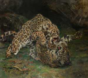 William Walls - Jaguar in tempo  eseguire..