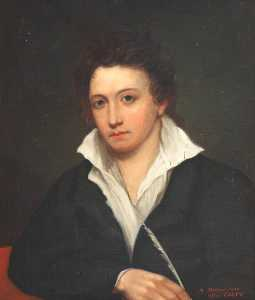 Malcolm Stewart - percy bysshe shelley ( 1792–1822 ) ( copia dopo george Clint )