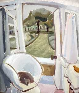 Ivon Hitchens - Estate camera