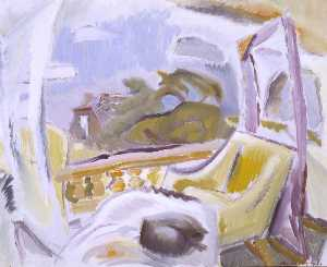Ivon Hitchens - Balcone a cambridge