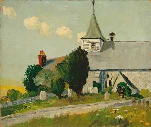 Eric Trayler Cook - Litlington Chiesa , Est Sussex